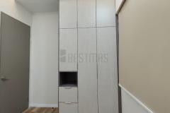 Bedroom 3 with Swing Door Wardrobe design