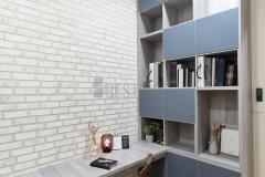 Studyroom with Bookshelf and Studytable design #