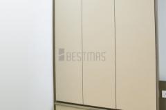 Bedroom 2 with Super Single Size Bedset and Swing Door Wardrobe design 2