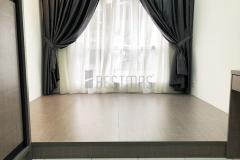Bedroom 2 with Tatami Bed and Antjump Sliding Door Wardrobe design ##