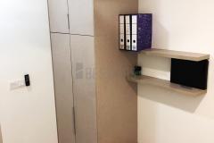 Bedroom 3 with Swing Door Wardrobe and Study Table design