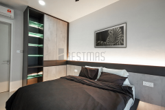 7.-Master-bedroom-with-King-Size-Bedset-and-Swing-Door-Wardrobe-Design