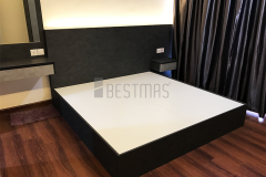 Master Bedroom with King Size Bedset and Dressing Table design