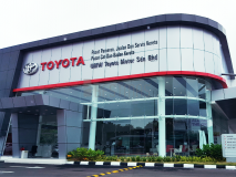 Toyota Showroom @ Temerloh, Pahang